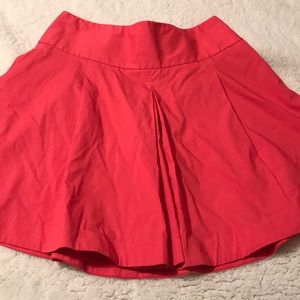 Express flouncy mini skirt size 4